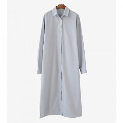 멜로 롱 셔츠