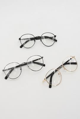 Normal thin frame glasses