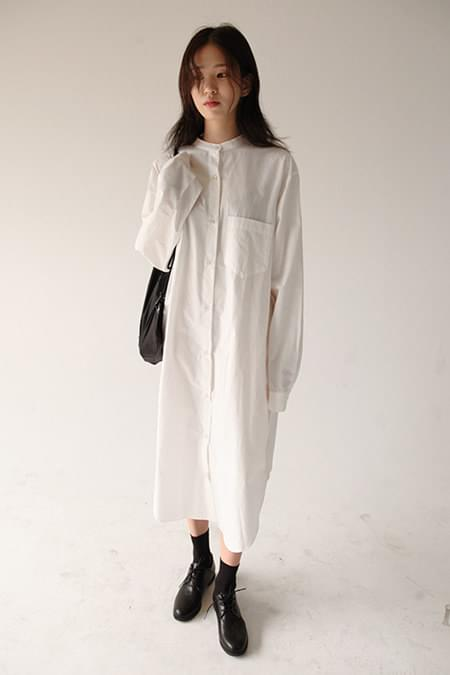 chinese long shirt (3colors)
