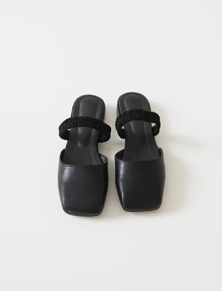 smooth shape band shoes (2colors)