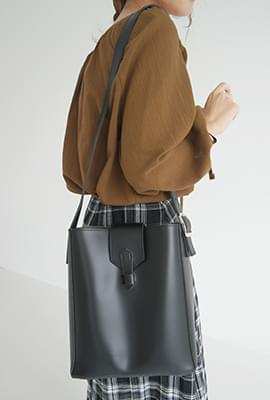 Wearable leather bag