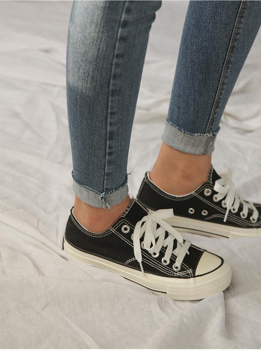 natural washing skinny jean