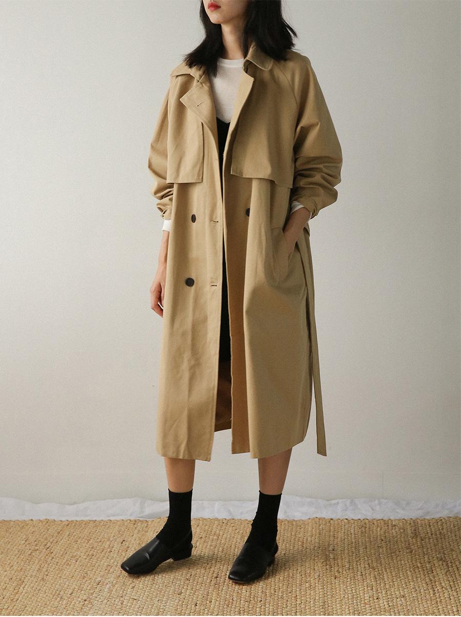 hero loose fit trench coat
