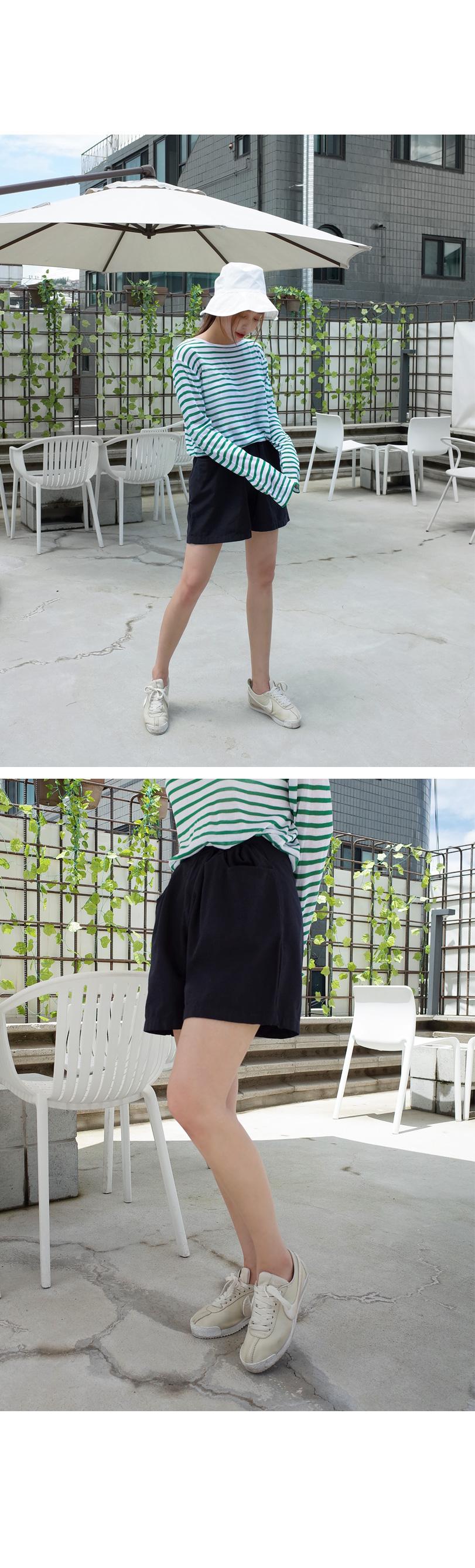 Mild Cotton Half Pants