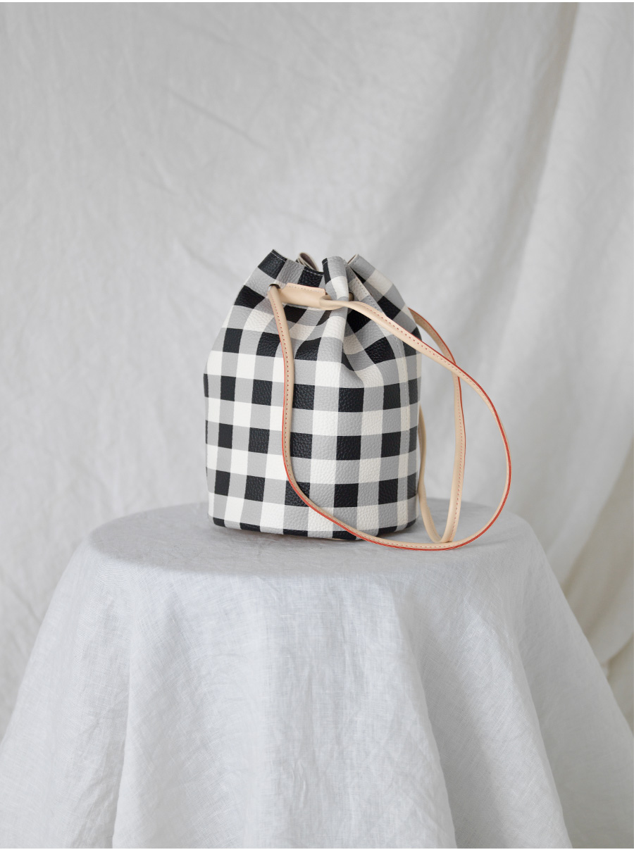 check pattern lucky bag