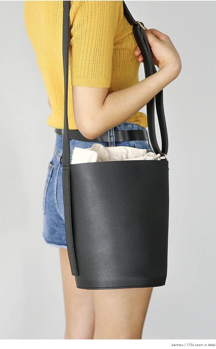 cotton pouch set cylinder bag