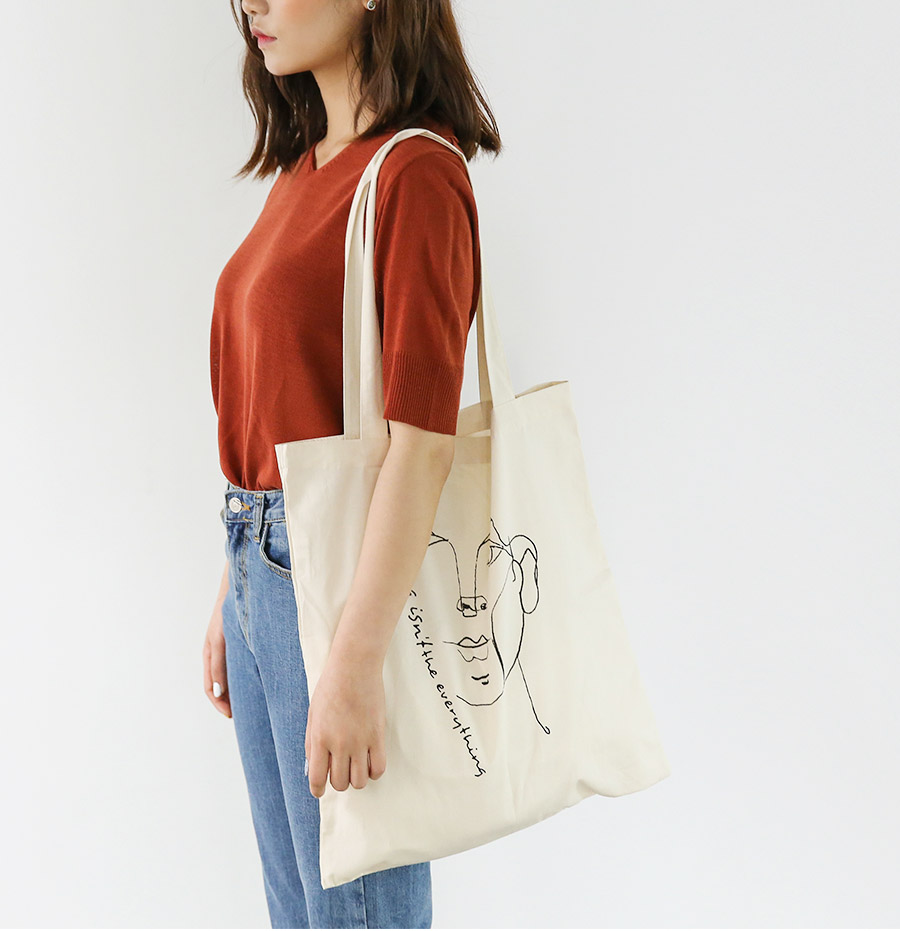 drawing eco bag