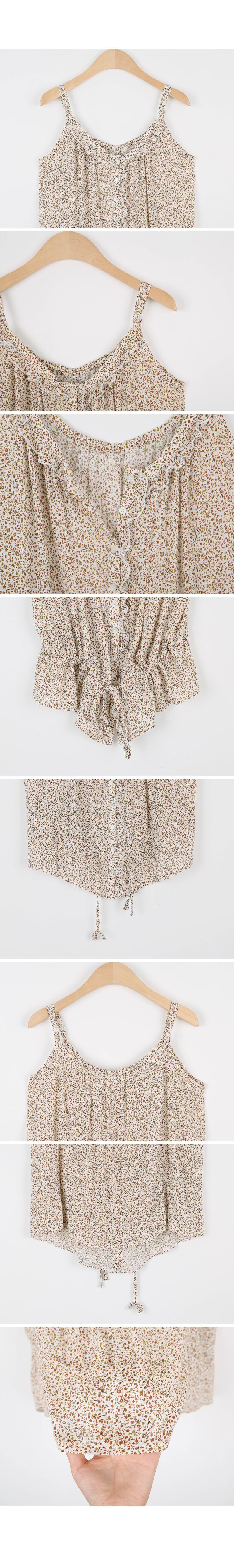 Floral string sleeves