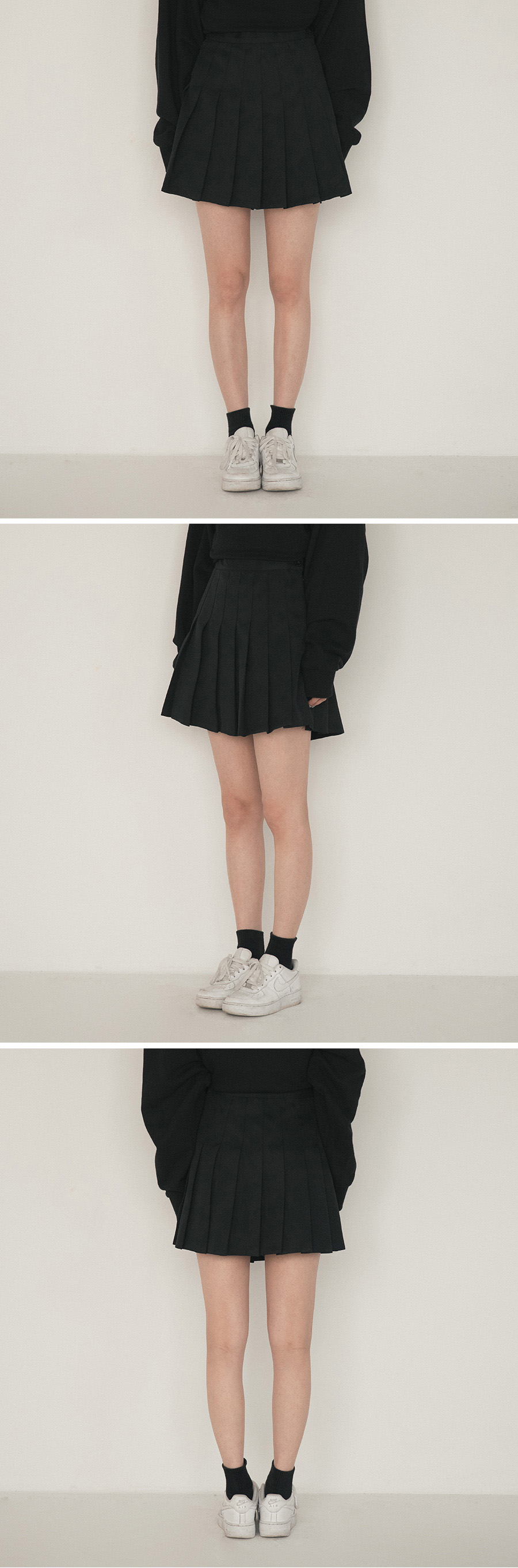 basic simple tennis skirt