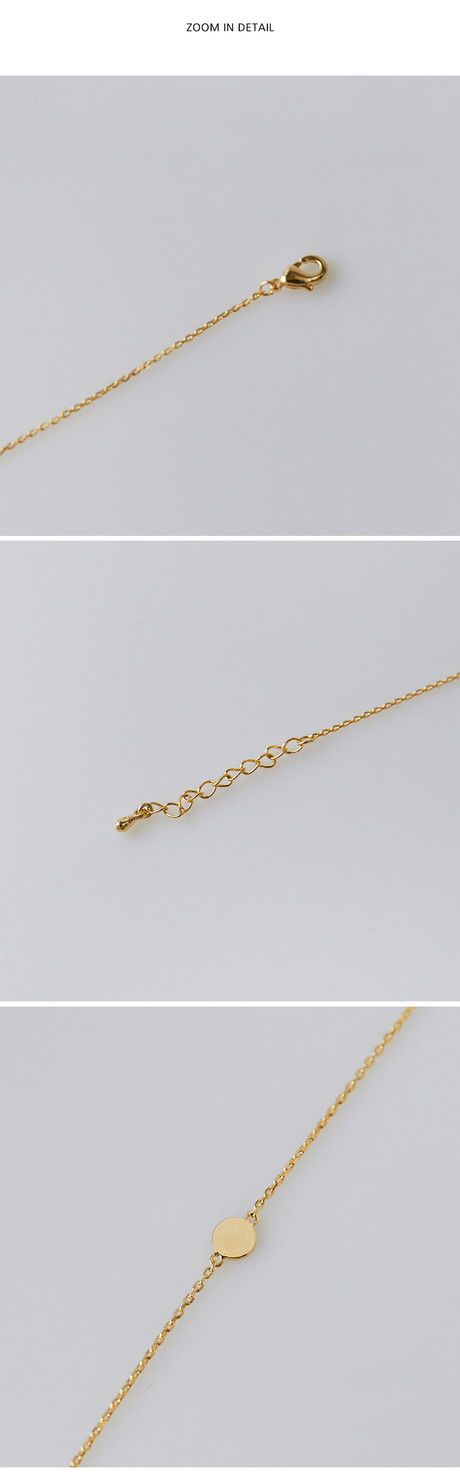 simple point gold bracelet
