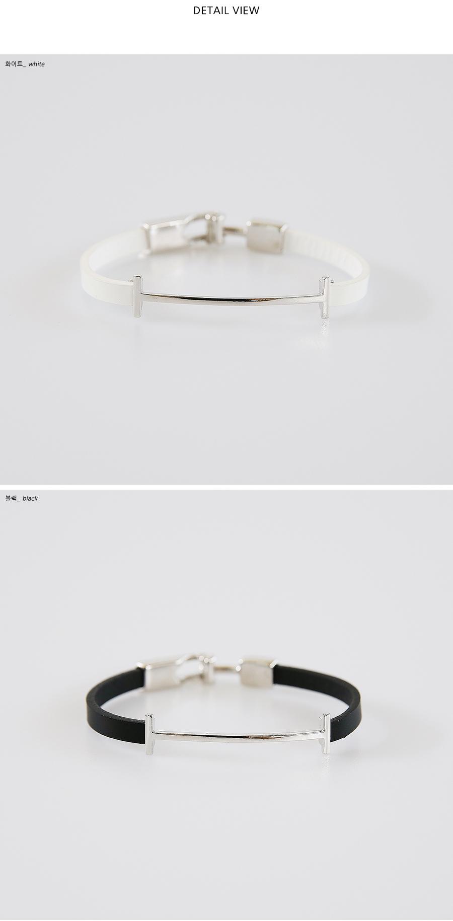 leather metal mix bracelets