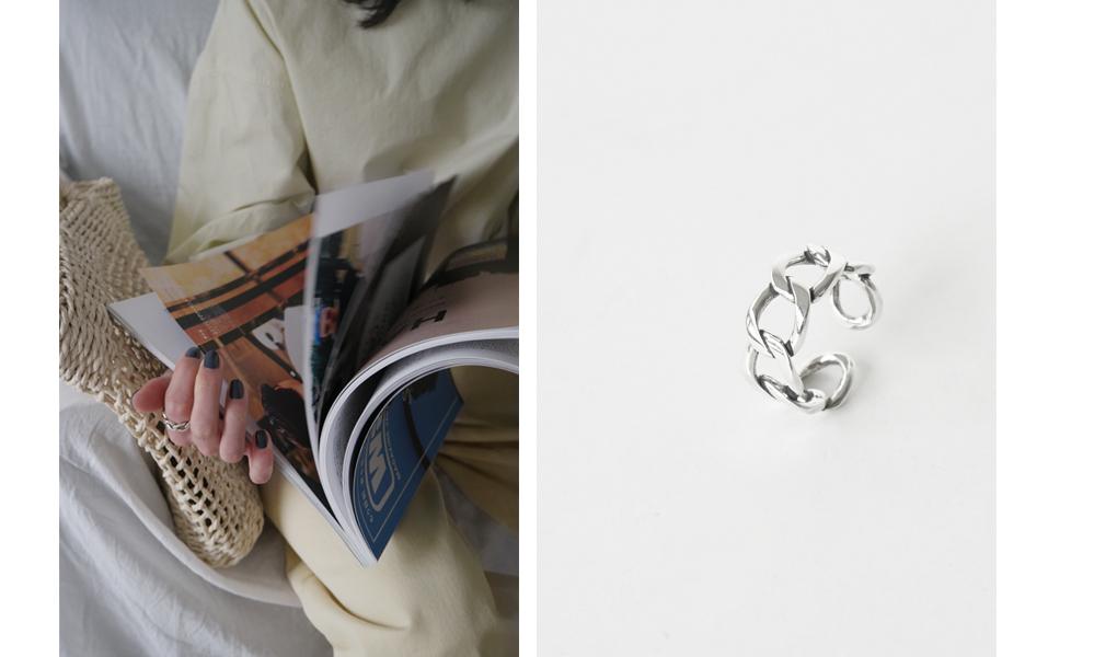 braid bold ring