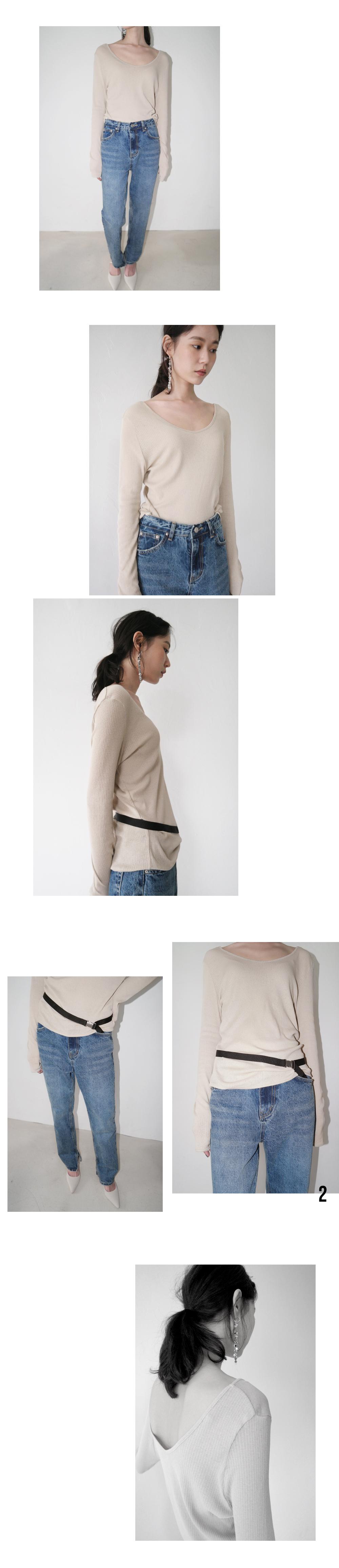 gorgeous mood sling-back (2colors)