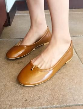String point flat shoes_K (size : 225,230,235,240,245,250)