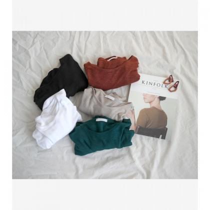 제이유 린넨 티셔츠