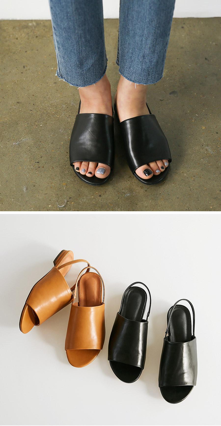 simple bandig sandal