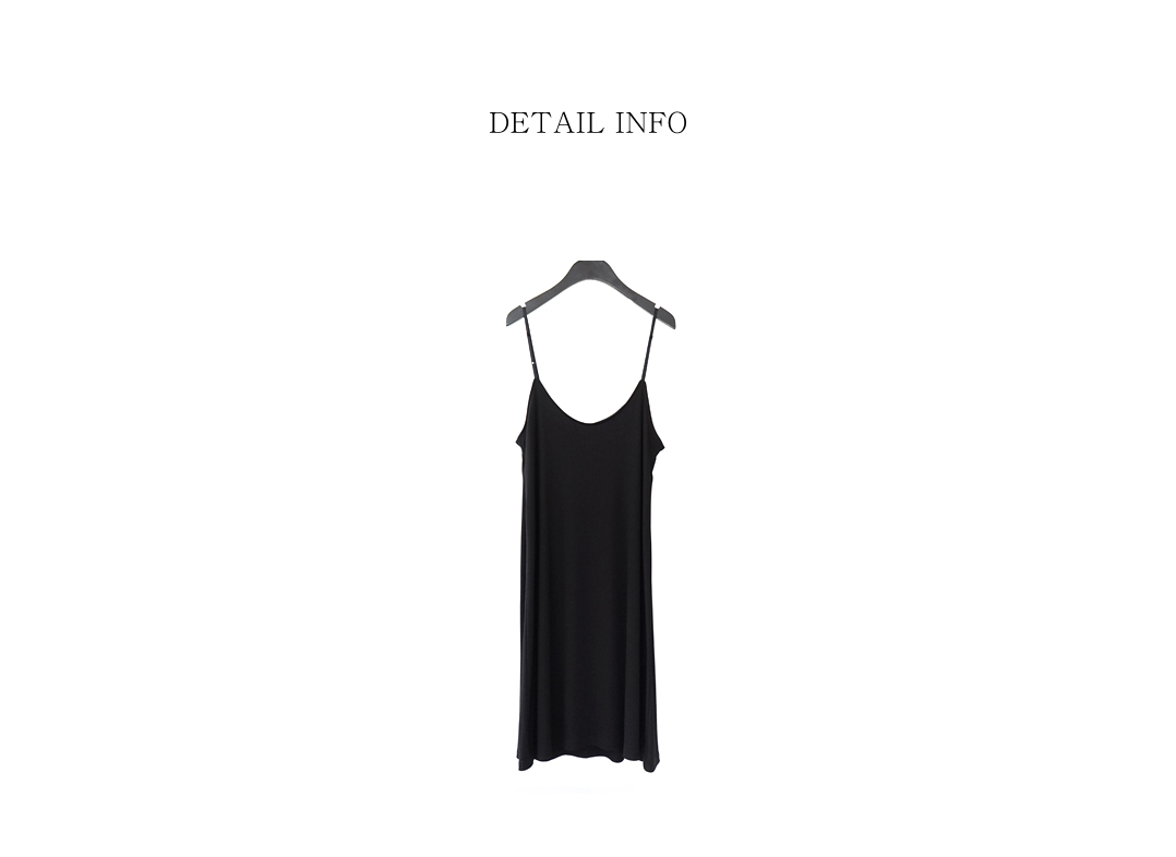 ribbed sleeveless one-piece (3colors)