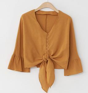 Cloved goddess blouse