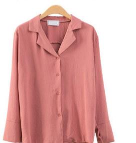 Open color blouse