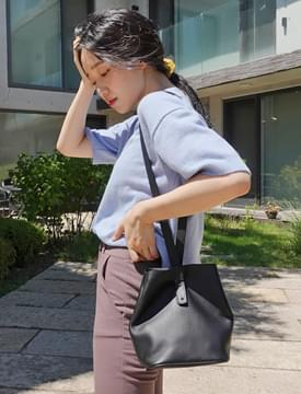 Real cowskin three-way bag_H (size : one)