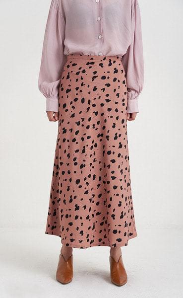 color leopard skirt (2colors)