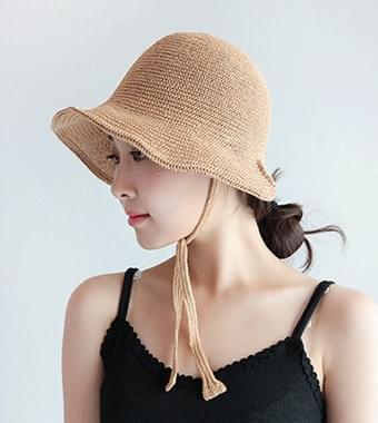 니코 와이어 끈 hat(5color)