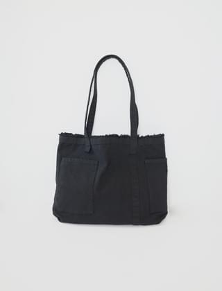 kitsch cotton shoulder bag (2colors)