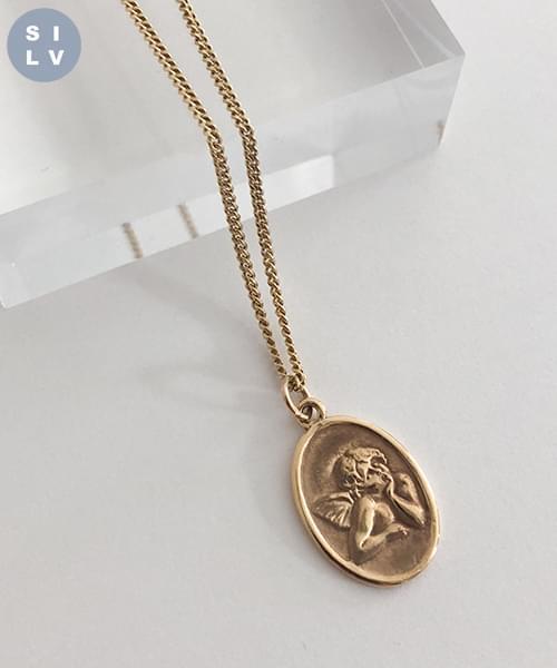 (silver925) cuppid necklace