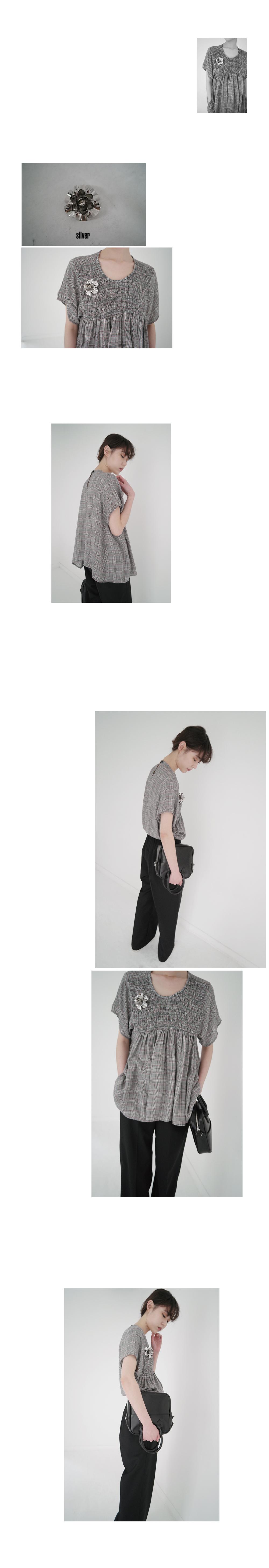 basic short sleeve T-shirt (4colors)