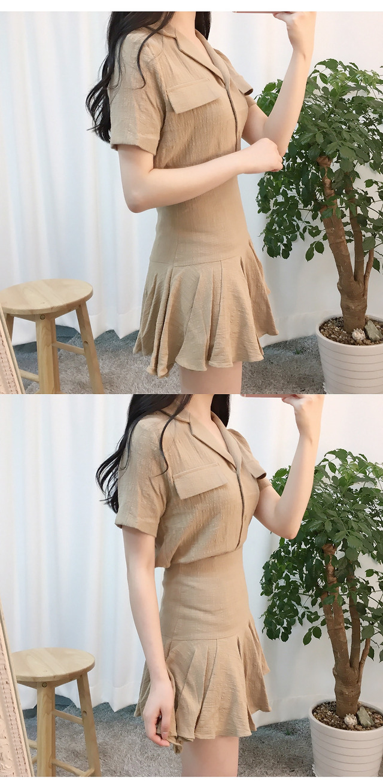 Andy Karla blouse + frilly skirt set dress