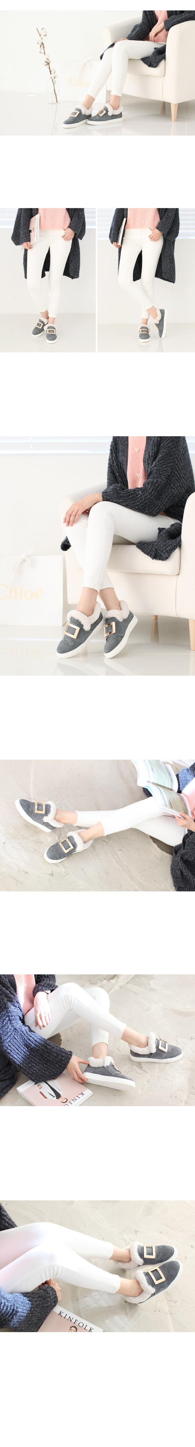 [Leather] Diantha slip-on 2.5cm