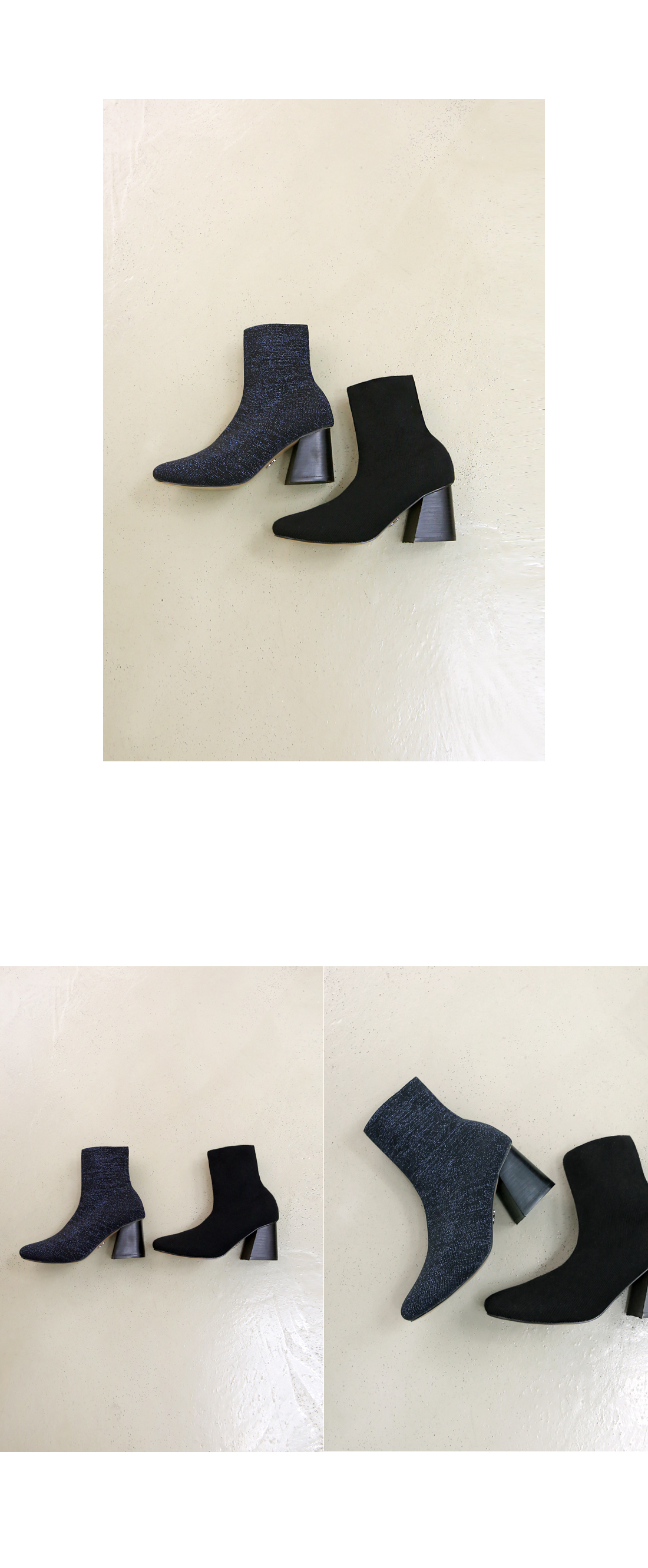 SOCKS ANKLE BOOTS 촬영용