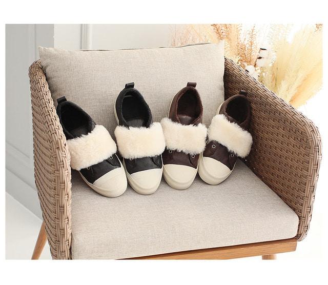 Arc Fleece Sneakers 2.5cm