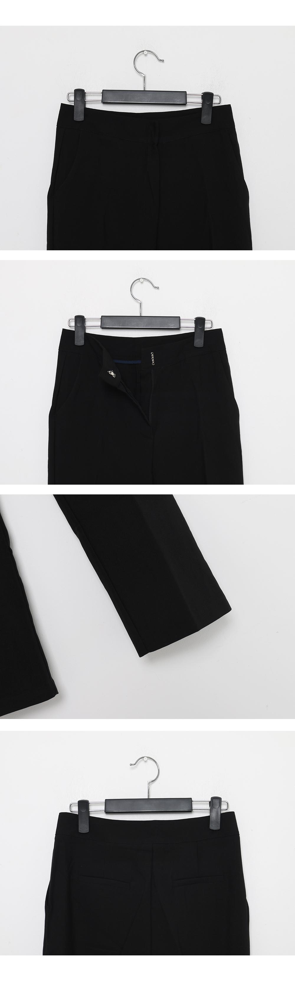 Basic Slim Fit Slacks