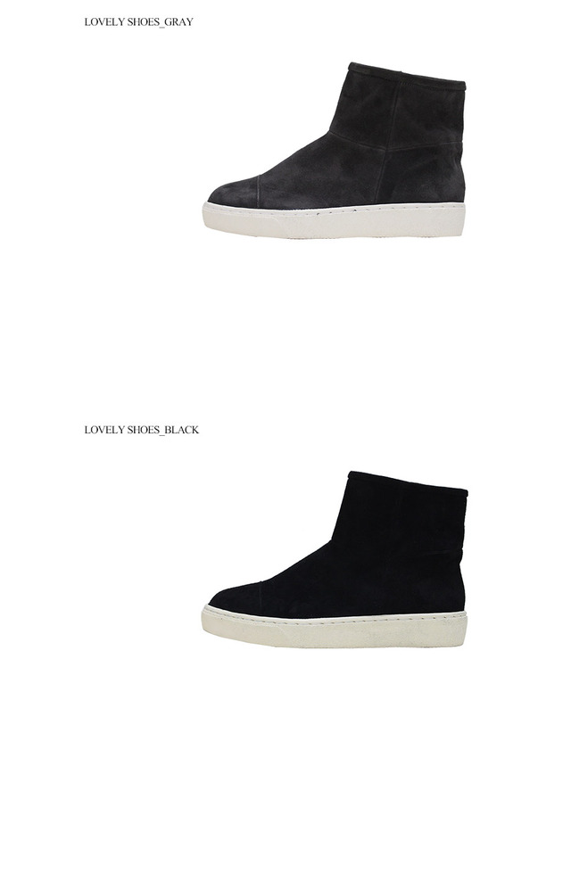 [Natural leather] Forest slip-on 3cm