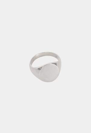 Bold circle ring (silver 925)