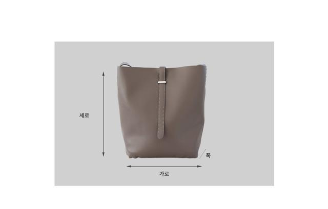 Bound shoulder bag
