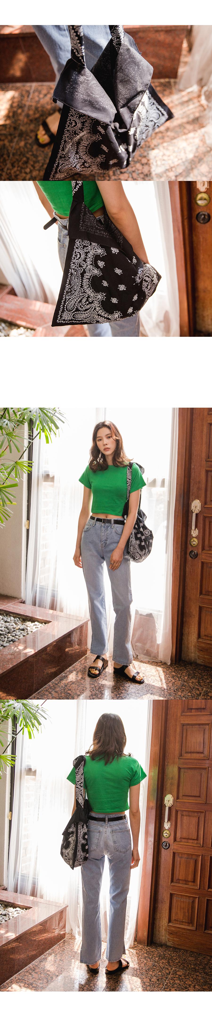 Paisley Cotton Bag