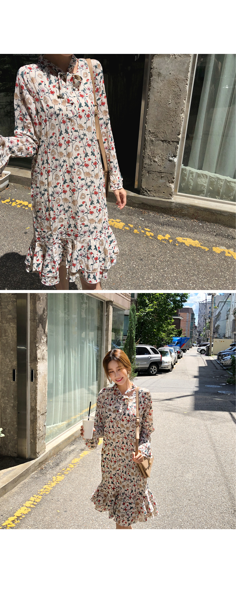 Shay Flower Dress