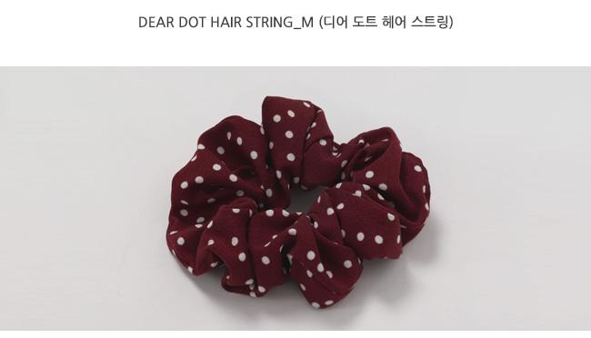 Dear dot hair string_M (size : one)
