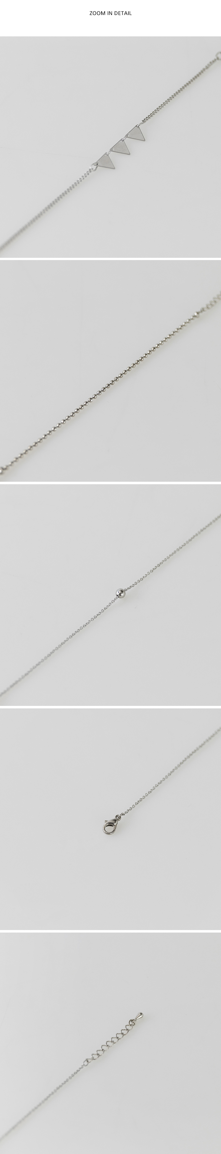 3 types layered bracelet