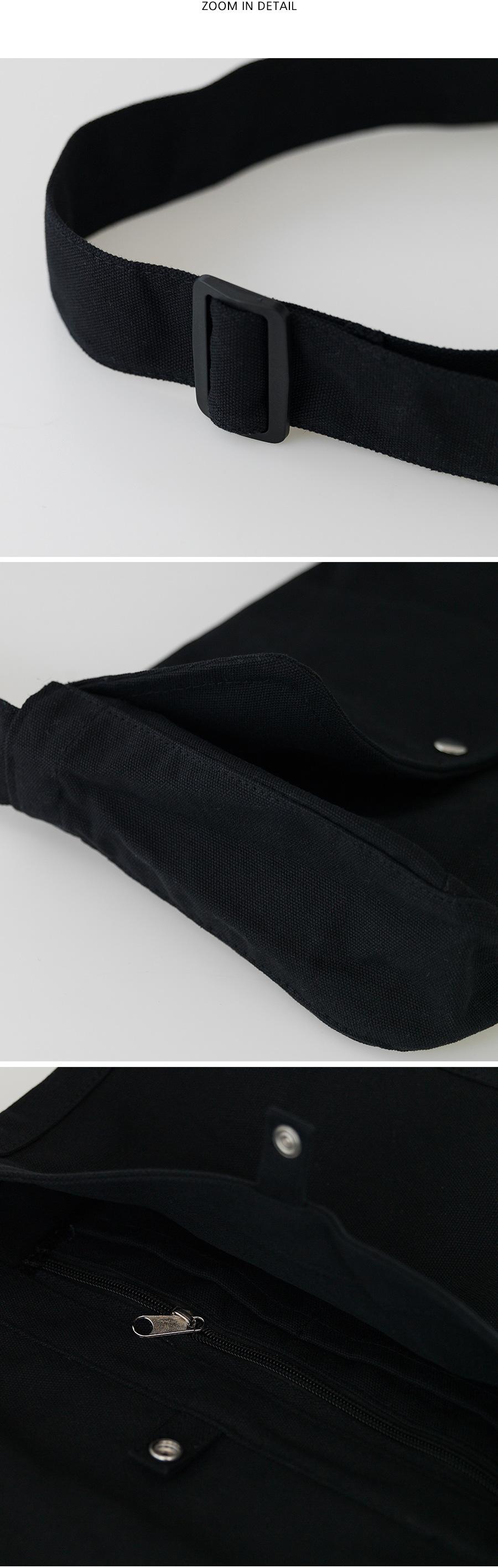 2 color casual cotton bag