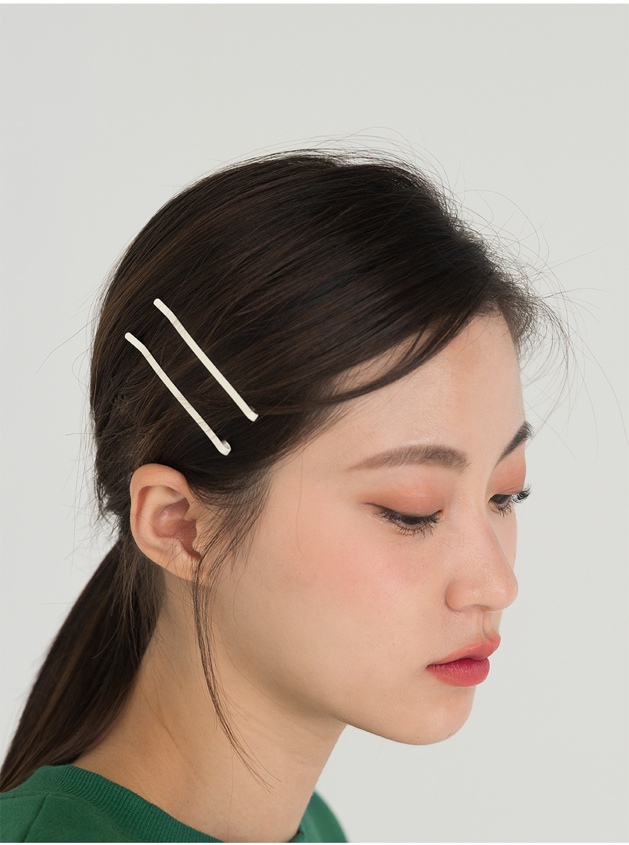 8 color point trendy hair pin set