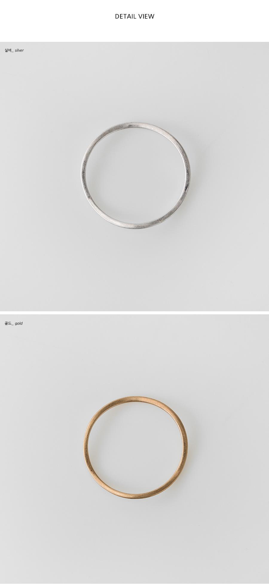 simple sleek bangle