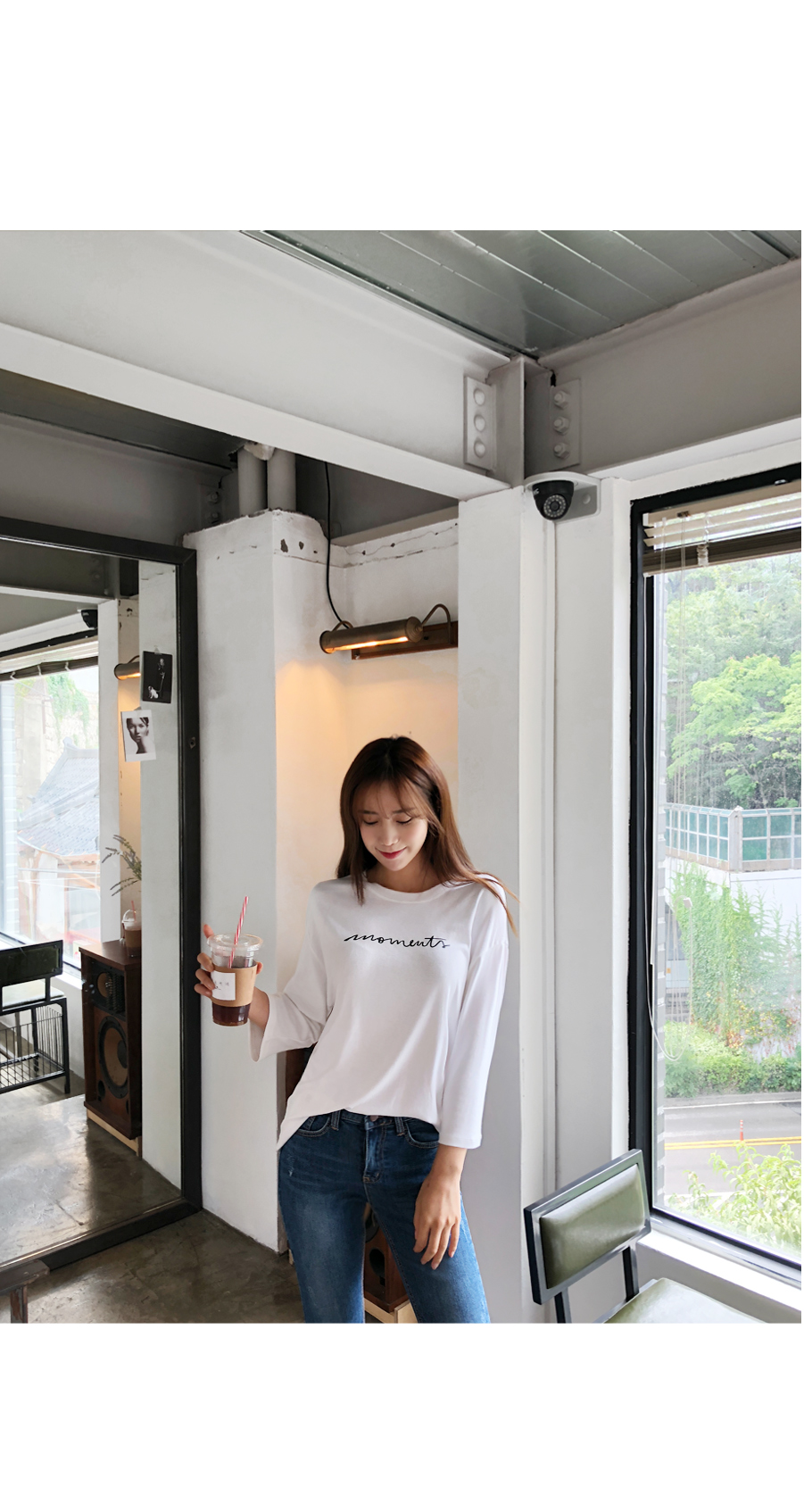 Moment Lettering Tee