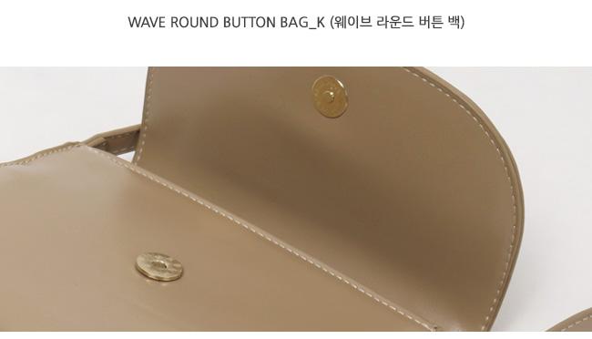 Wave round button bag_K (size : one)