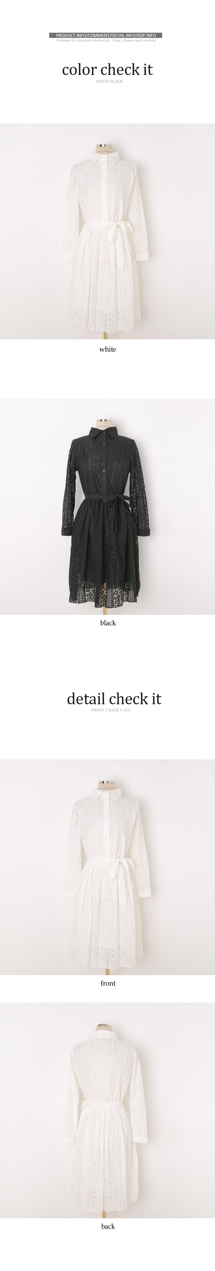 Lace Opal Dress
