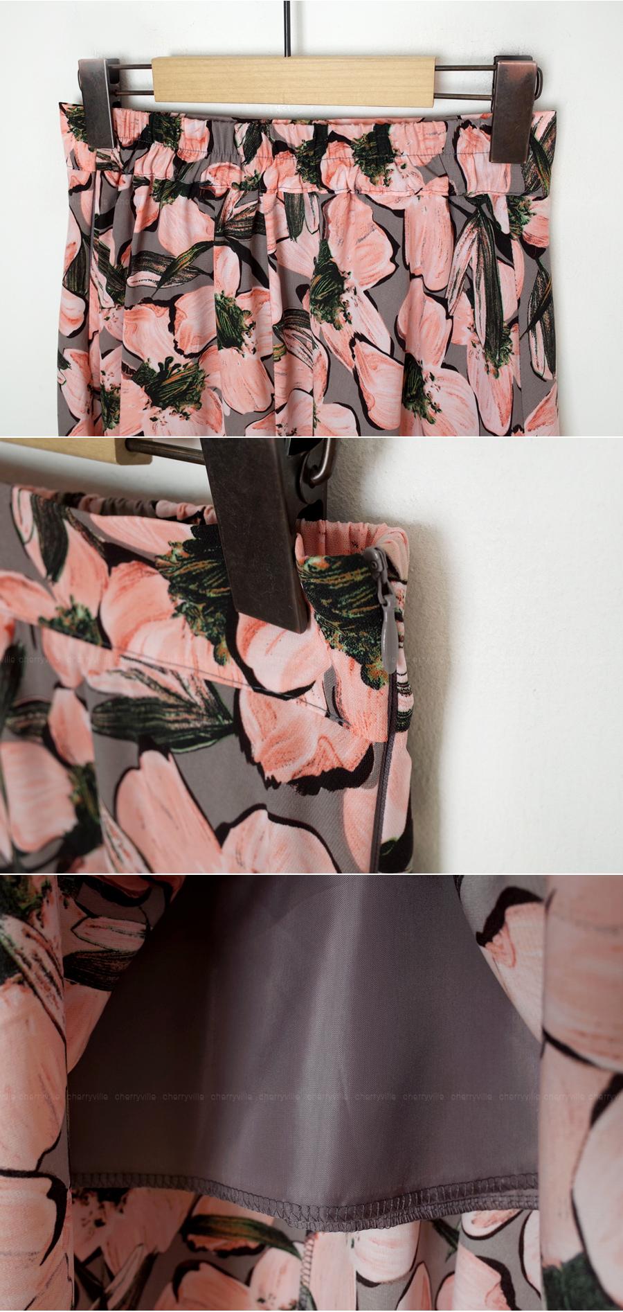 Flower date skirt