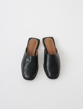 smooth shape mules (2colors)