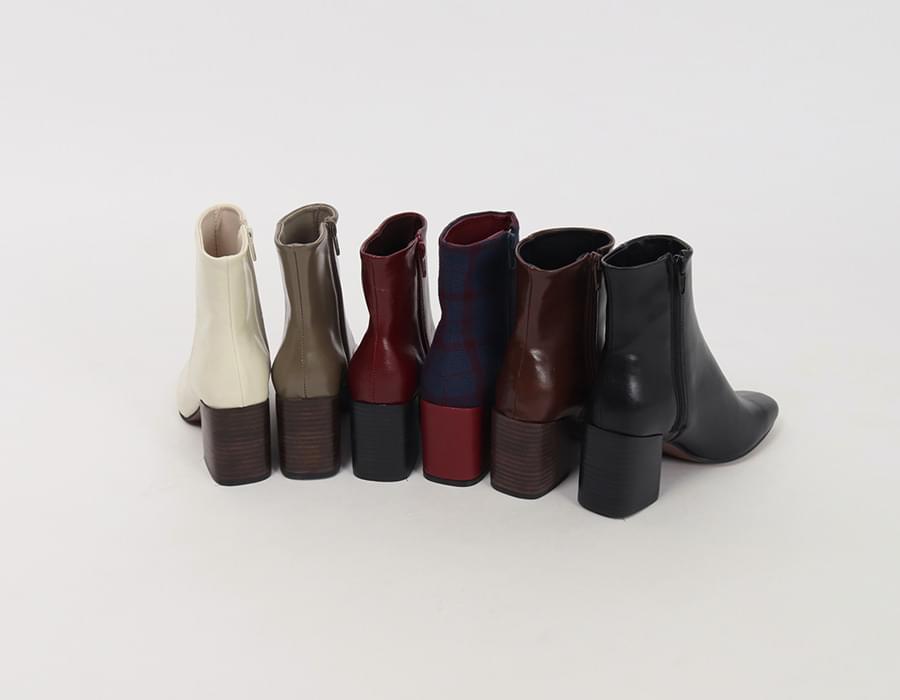 Nine leather walker heel_K (size : 230,235,240,245,250)
